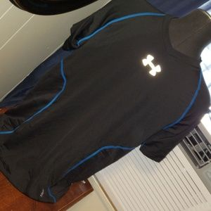 Med under armour athletic breathable back shirt